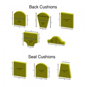 CHair Cushions List