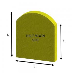 Half Moon Seat