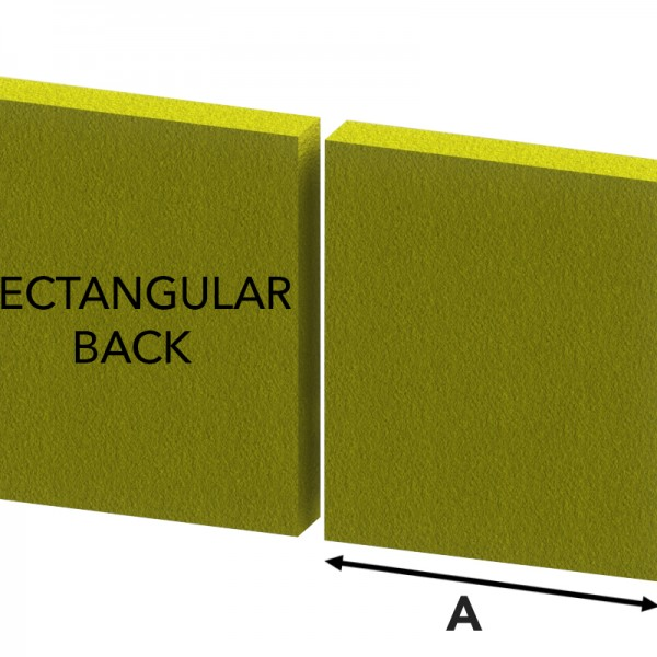 Rectangular Back | Sofa