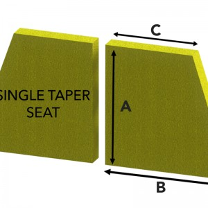 Single Taper Seat