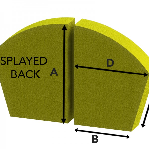Splayed Back | Sofa